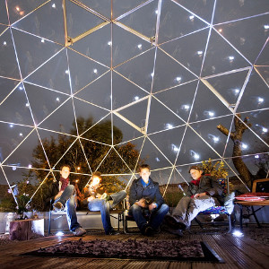 domes for accommodation